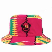 M$$xWT Rasta Print Bucket Hat - MEN - M$$xWT - OPENING CEREMONY