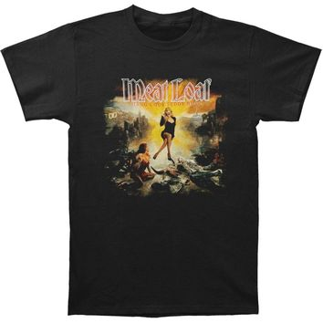 Meatloaf Men's  H.C.T.B. Cover 2010 Tour T-shirt Black
