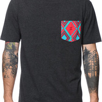 Empyre Trino Black Pocket Tee Shirt at Zumiez : PDP