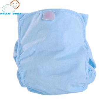 bamboo Reusable Baby Washable Diapers Infant cloth Diaper nappy changing Comfortable Soft Cover Adjustable Fraldas