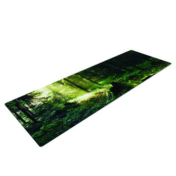 Light In the Woods Yoga Mat