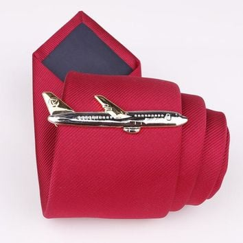 Cute Ship, Air Plane, Fork, Spoon, Hammer, Shark Ties Clip
