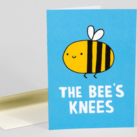 The Bee's Knees by Gemma Correll