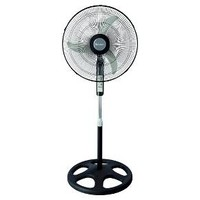 """Holmes® Stand Fan, 18"""" with remote, Black (HSF1810AR)"""