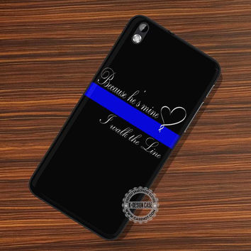 Thin Blue Line - LG Nexus Sony HTC Phone Cases and Covers
