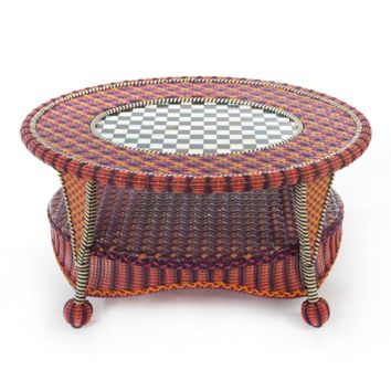MacKenzie-Childs - Sunset Outdoor Coffee Table