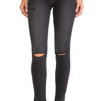 Paige Denim Verdugo Ultra Skinny in Rayen Destructed