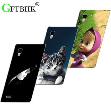 Hot Ultra Thin Back Cover For LG Optimus L9 P760 P765 P769 Protective Phone Case Horse Cat Handsome Tiger Fruits Cases