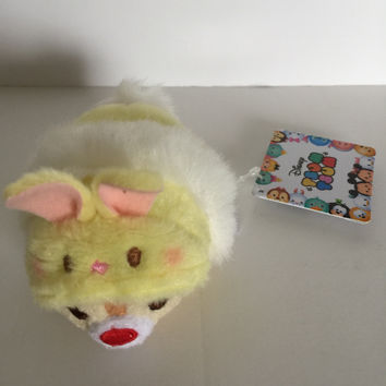 Disney Store Japan 2017 Dale Easter Bunny Tsum Plush New with Tags