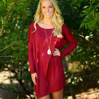 Softie Tunic - Burgundy