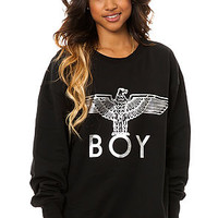 The Boy Eagle Sweatshirt with Silver Foil