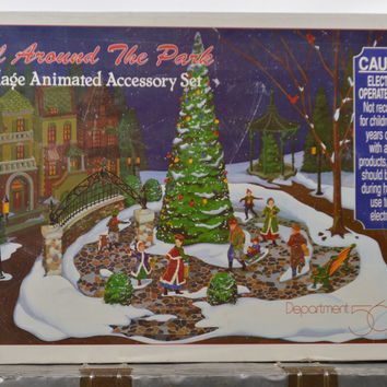 Department 56 All Around the Park Animated Accessory Set
