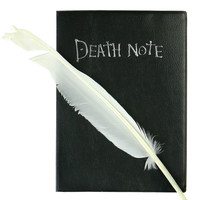 DEATH NOTE NOTEBOOK & FEATHER PEN