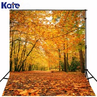 Kate Digital Printing Natural Scenery Photography Backdrop Autumn Defoliation For Outdoor Wedding Photography Background
