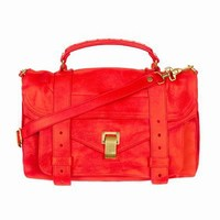 PROENZA SCHOULER PS1 MEDIUM BAG - BRIGHT RED LEATHER - C-1