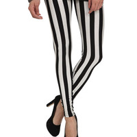 Striped Ankle Legging | Shop Active at Wet Seal