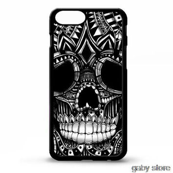 Skull ornate head gothic graphic cell phone case cover for for Iphone 4S 5 5S 5C 6 Plus Samsung galaxy S3 S4 S5 S6 Note 2 3 4