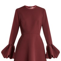 Gaia bell-cuff crepe dress | Roksanda | MATCHESFASHION.COM US