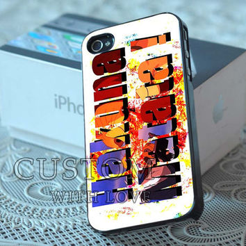 Hakuna Matata Color Full - Rubber or Plastic Print Custom - iPhone 4/4s, 5 - Samsung S3 i9300, S4 i9500 - iPod 4, 5