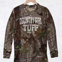 Women's Camo Long Sleeve RealTree® - Country Girl® Tuff