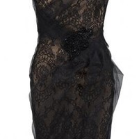 Lace Cocktail Dress - Dresses - Clothing - Womens