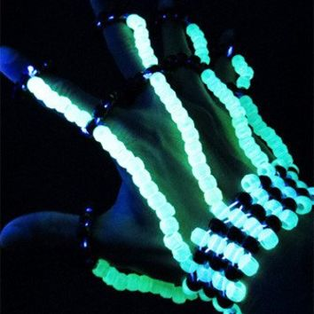 Glow in the Dark Kandi Fingerlets