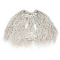 Alexander McQueen Ostrich feather shrug – 63% at THE OUTNET.COM