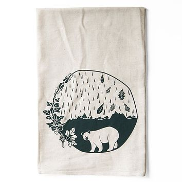 Atlantic Explorer All Natural Flour Sack Tea Towel