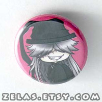 Chibi Anime Button: Black Butler - Undertaker