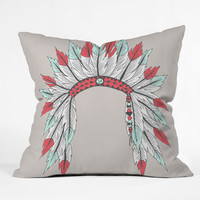 Wesley Bird Dressy Throw Pillow
