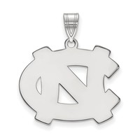 NCAA Sterling Silver North Carolina Large Pendant
