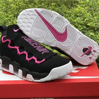 Sneaker Room x Nike Air More Money QS Black/Pink Shoe 36--45