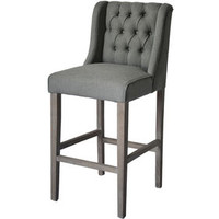 Luke Gray Reclaimed Barstool- 29-in