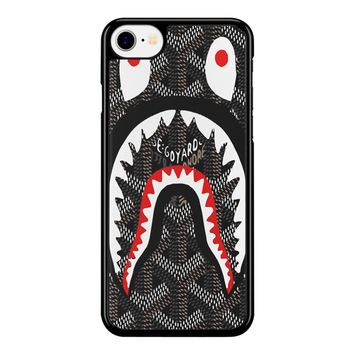 Shark Bape Goyard iPhone 8 Case
