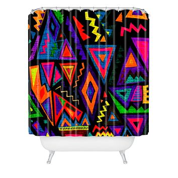 Kris Tate Folklore Shower Curtain