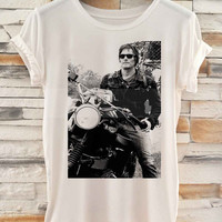 Norman Reedus Daryl Dixon The Walking Dead White _ Tshirt  And Tank Top Men And Women Design By : PATUNGAN