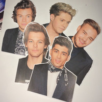 1D stickers :)