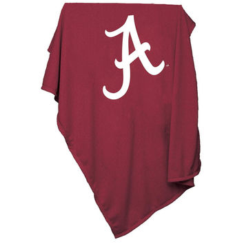 Alabama Crimson Tide NCAA Sweatshirt Blanket Throw