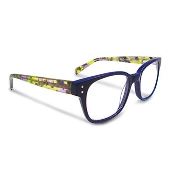 Blue 1.75 Magnification Reading Glasses