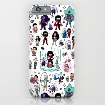 Cute Steven Universe Doodle iPhone & iPod Case by KiraKiraDoodles