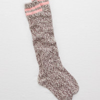 Aerie Real Soft® Knee High Socks, Powder Sky