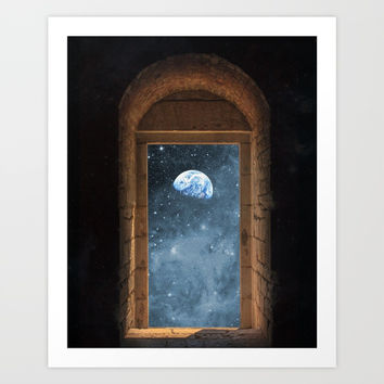 DOOR TO THE UNIVERSE Art Print by deificus Art