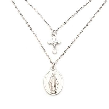 Religious Style Chain Necklace