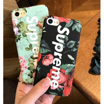 Supreme printing Iphone 8 8 plus & 7 7Plus & 6 6s mobile phone case F