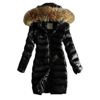 Partiss Womens Ladies Luxury Winter Hooded Down Cotton Jacket Warm Coat Parka