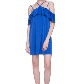 Davis Ruffle Dress