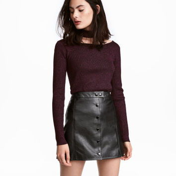 H&M Glittery Sweater $24.99
