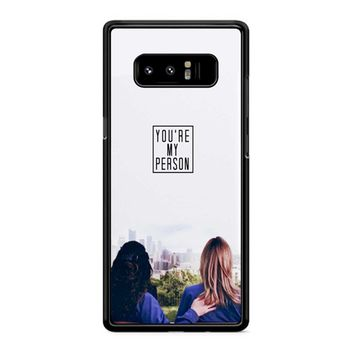 Twisted Sisters Samsung Galaxy Note 8 Case