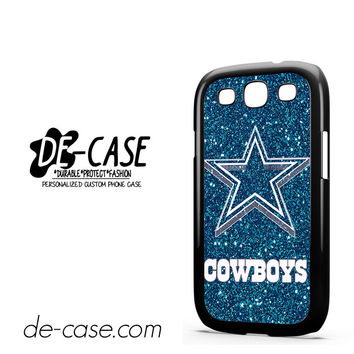 Dallas Cowboys Glitter For Samsung Galaxy S3 Case Phone Case Gift Present