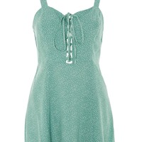 PETITE Spot Print Sundress - Dresses - Clothing